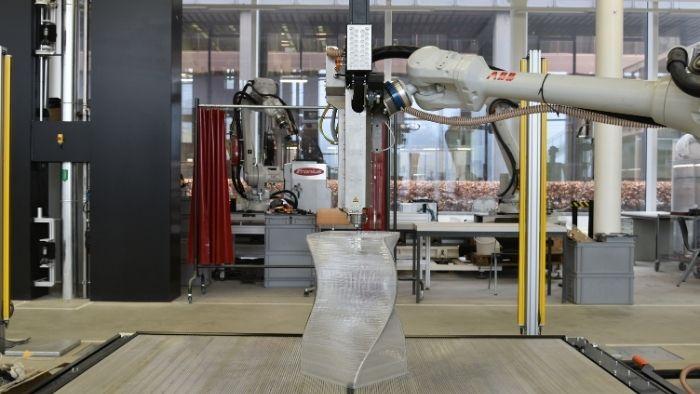 Robot Extruder at ETH Zurich