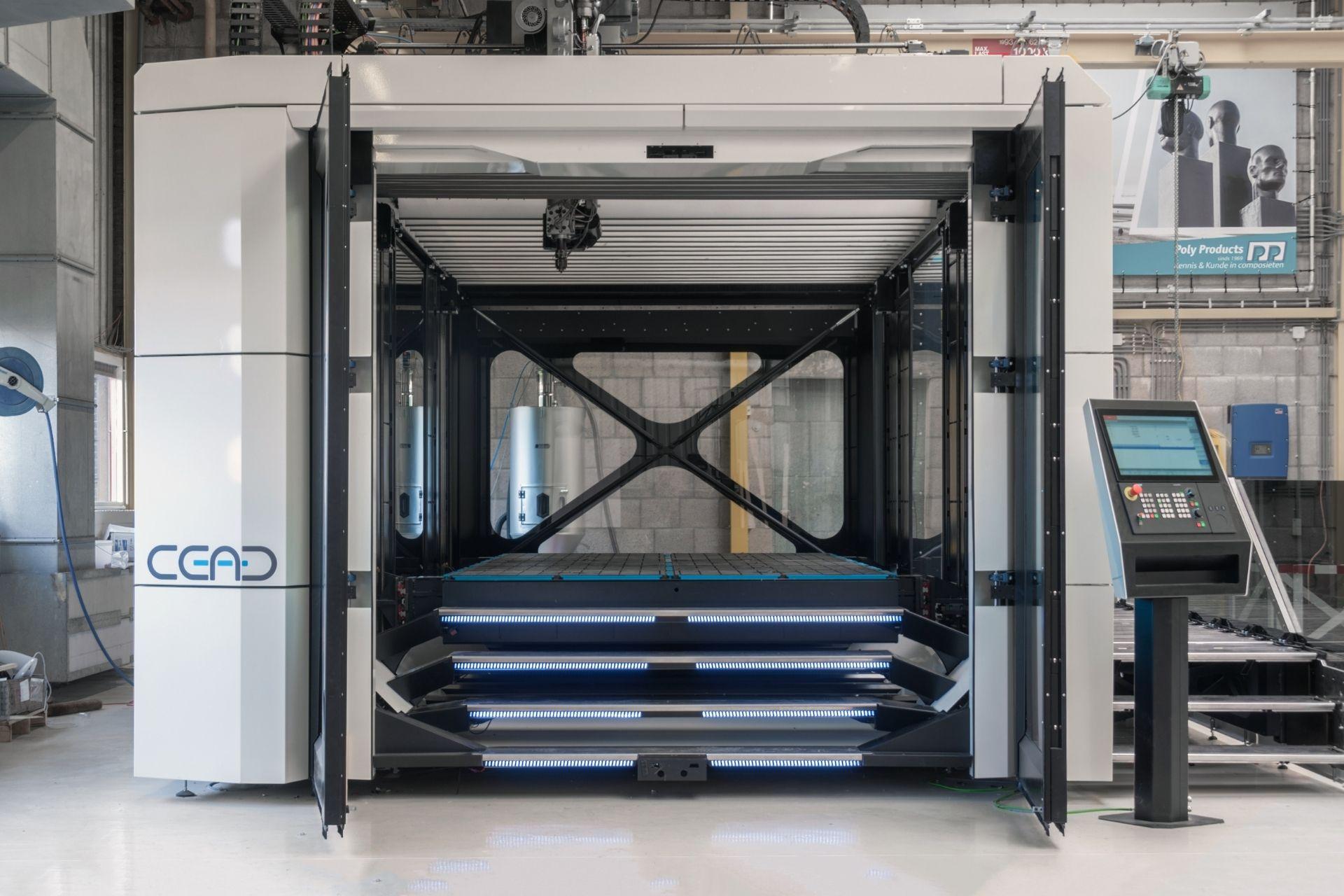 CFAM Prime front view with doors open