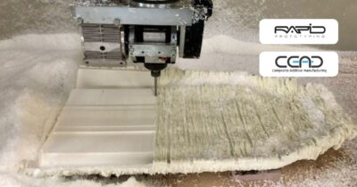 Milling at Rapid Prototyping client of CEAD