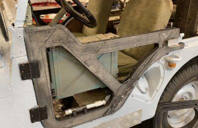 3D printed jeep door by SPARK